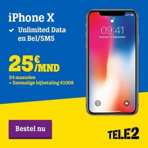 iPhone X Superdeal! Inclusief abonnement