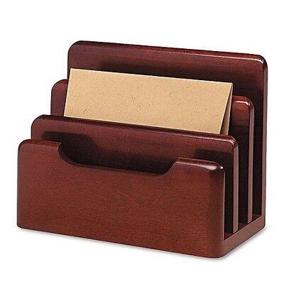 Mail Sorter Desktop Desk Stationery Files Sorter Organizer Wood Holder Office