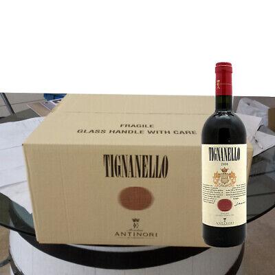 6 bottiglie TIGNANELLO TOSCANA IGT 2015 Antinori