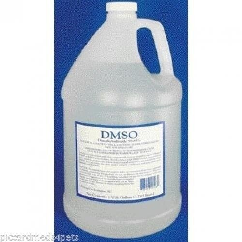 Dmso  Gallon 128oz liquid pure Dimethyl Sulfoxide  Pain & swelling