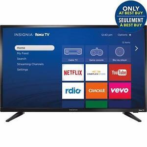 "INSIGNIA 32"" LED SMART ROKU TV *NEW IN BOX*"
