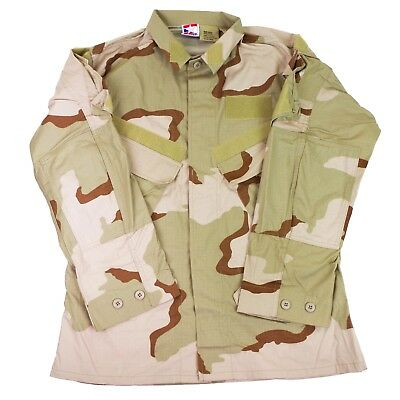 Camouflage Military Issue Coat Jacket Desert Combat Field US Army Hot Weather  (Army Camouflage)