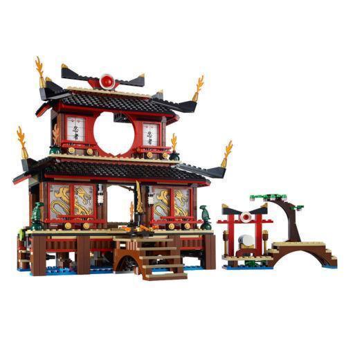 Lego Ninjago Fire Temple Ebay