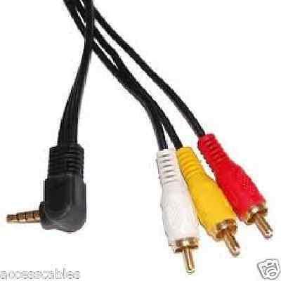 Camcorder A/v-kabel (A/V Kabel für Sony DCR-TRV39, DCR-TRV460 Camcorder (3))