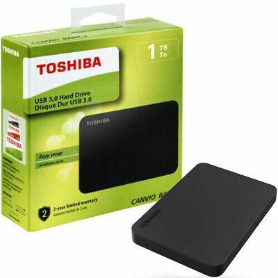 HARD DISK TOSHIBA HD ESTERNO 1000 GB 1TB HDD 1 TERA HARDISK USB 3.0 2.0
