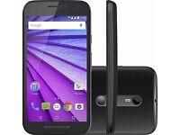 Motorola Moto G 4G-LTE 3rd Gen 8GB XT1541 Black Unlocked Smartphone