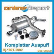 VW Vento Auspuff