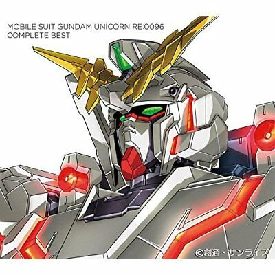 [CD] Mobile Suit Gundam Unicorn Re:0096 Complete Best Japan Anime Music CD