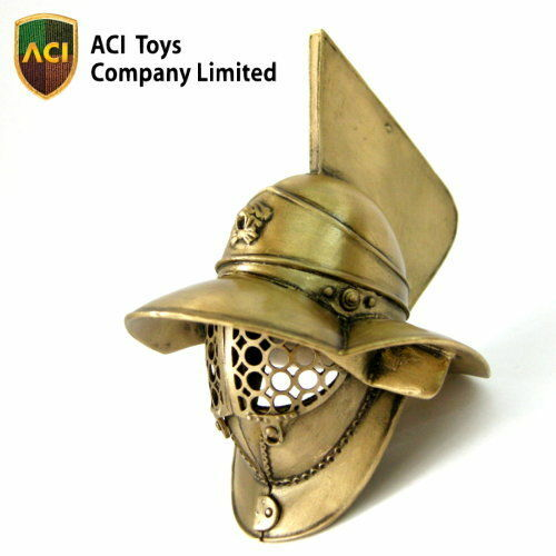 ACI 1/6 Museum_ Myrmillo Gladiator Helmet _Bronze Ancient Roman  AT010Z