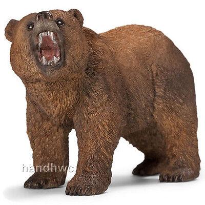 Schleich 14685 Grizzly Bear Male Toy Wild Animal Figurine - NIP