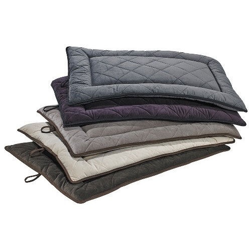 Bowsers MicroVelvet Cross Country Quilted Mat Travel Dog Bed