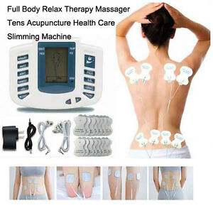 Electrical Stimulator Full Body Relax Pain-Relieve Therapy Massa