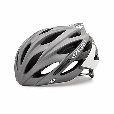 Giro Savant Adult Road Cycling Helmet Matte Titanium/White Medium (55-59 cm)
