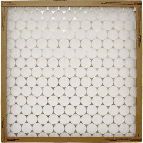 Case of 12, All Sizes, Flanders EZ Flow Fiberglass AC Filters w/ Metal Retainers