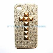 Gold Studded iPhone 4 Case