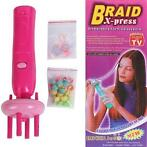 Braid X-Press haar vlechter.