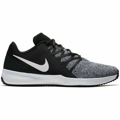 Nike Varsity Compete Trainer AA7064-001 Black White Men's Cross Training Shoes