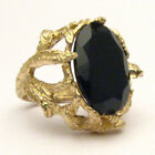 Black Yellow Gold Fine Rings