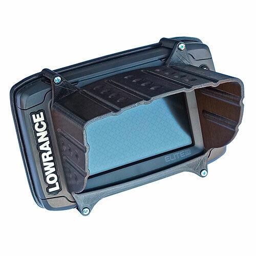 sun visor for lowrance elite 5 ti