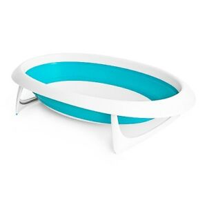 Boon Naked Collapsible Bathtub - Blue