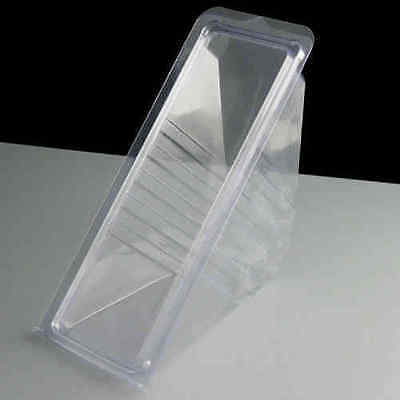Sandwich Wedges Single Hinged (100)Disposable Plastic Sandwich Packaging
