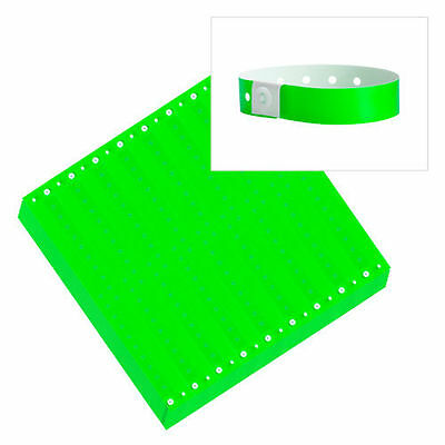 Plastic Wristbands 100ct,500ct,1000ct-ChooseYourColor-Clubs,