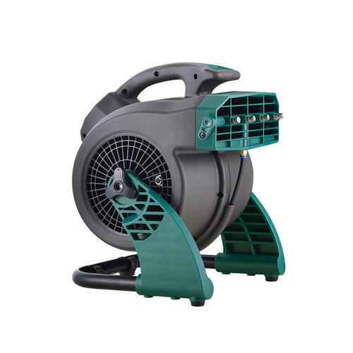 3 Speed Portable Outdoor Patio Garage Shop Floor Cooling Misting Utility Fan
