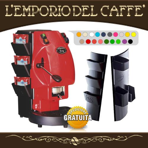 Macchina Caffè Didiesse FROG + Porta accessori (Colore a scelta) Cialde ESE 44mm