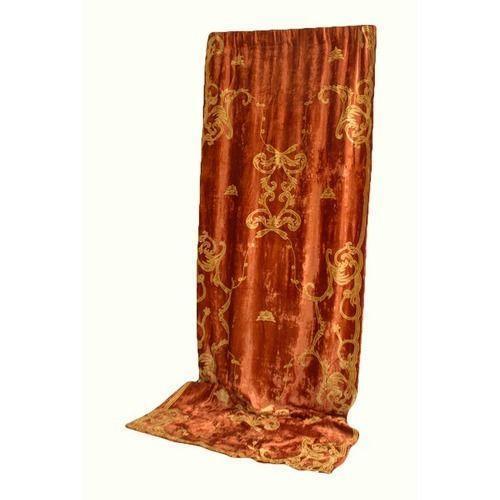 Gold Velvet Curtains Ebay