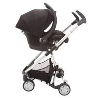 Maxi Cosi infant car seat and Quinny Buzz stroller