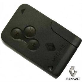 Genuine Used Renault Smart Key Fob - RENAULT MEGANE mk2 SCENIC mk2 CLIO mk3
