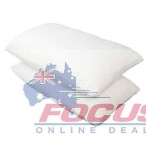Set of 2 Memory Foam Pillows 19cm Thick Melbourne CBD Melbourne City Preview