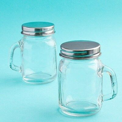50 Mini Mason Candy Jars Wedding Bridal Baby Christening Shower Party Favors (Baby Shower Candy Jars)