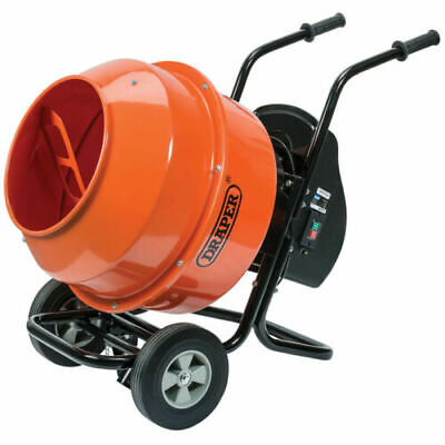 DRAPER 01102 130L CEMENT MIXER (230V) COMES WITH STAND