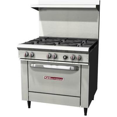 Southbend - S36d - 36 Commercial Restaurant Range Oven Stove