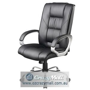 New PU Faux Leather Office Computer Chair 9082 Melbourne CBD Melbourne City Preview