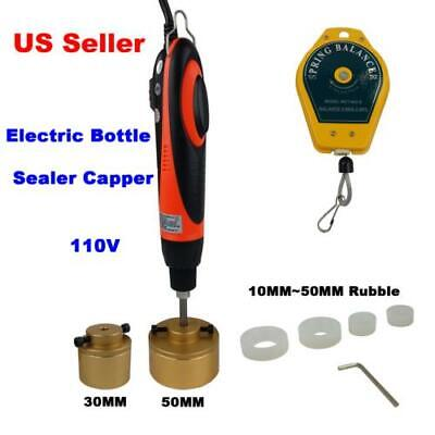110v Handheld Electric Bottle Caps Capper Capping Sealing Machine