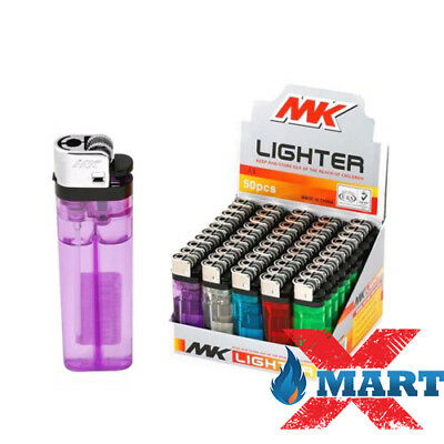 Изображение товара 25 MK Classic Full Size Cigarette Lighter Disposable Lighters Wholesale Lot