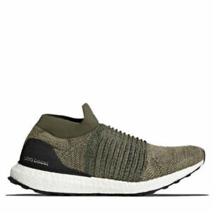 07f5f2936ba60 adidas Ultra Boost Laceless Olive Trace Cargo Size 13. Cp9252. NMD ...