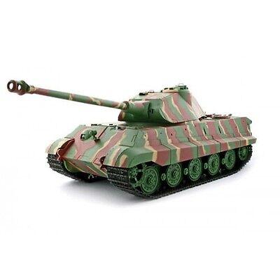2.4Ghz 1/16 German King Tiger (Porsche Turret) Battle Tank w/Smoke & Sound RTR