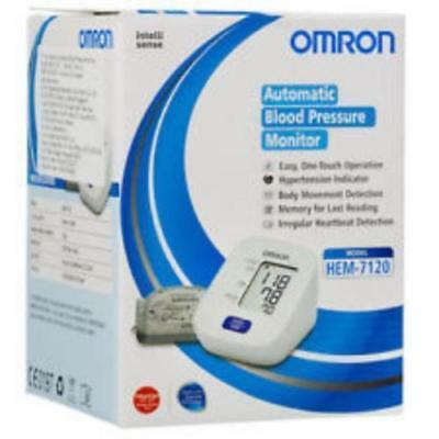 Omron Hem 7120 Upper Arm Automatic Blood Pressure B P Monitor With Normal Cuff