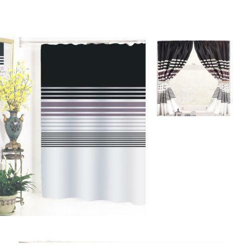 Shower Window Curtain Set Ebay