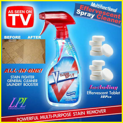 TOP !!! Multifunctional Effervescent Spray Cleaner V Clean S