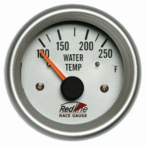 2 5/8 Water Temperature Gauge Electric 258-15 Redline