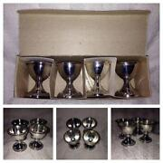 Silver Plated Egg Cup Set