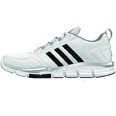 ADIDAS SPEED TRAINER 2 SL SHOES NEW MEN'S SIZE 9.5 WHITE/BLACK/SILVER