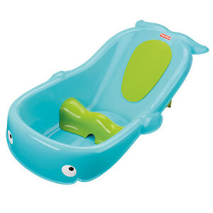 whale baby tub