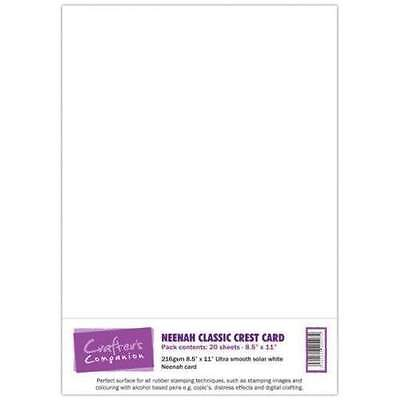 Crafter's Companion NEENAH CLASSIC CREST CARD A4 x 20 sheets