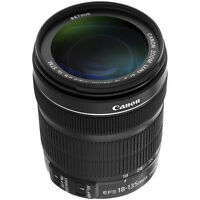 Canon EF-S 18-135mm f/3.5-5.6 IS STM Lens Like New Condition.