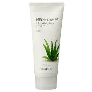 The-Face-Shop-Herb-Day-365-Cleansing-Foam-Aloe-Cleanser-BB-Base-Foundation